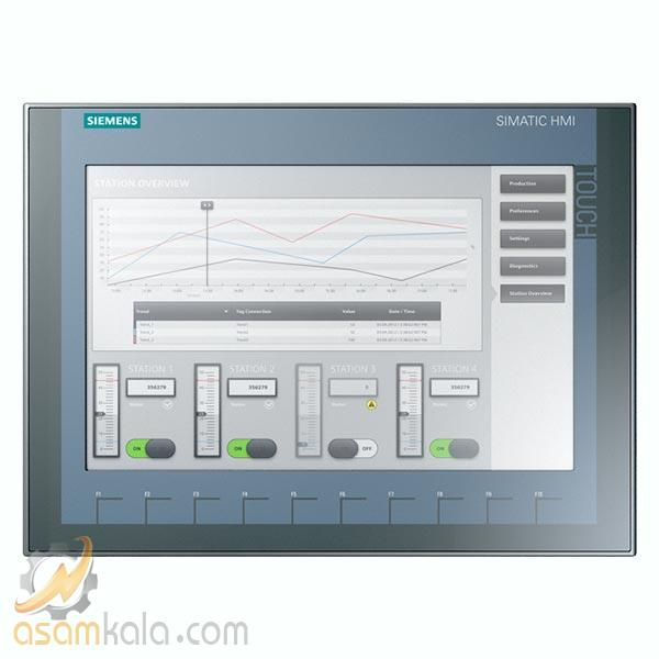 "اچ ام آی زیمنس SIMATIC HMI, KTP1200 Basic 12"" TFT display"