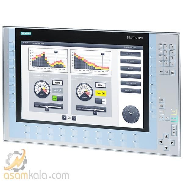 "کی پنل زیمنس HMI KP1500 Comfort Panel touch operation 15"" widescreen TFT display"