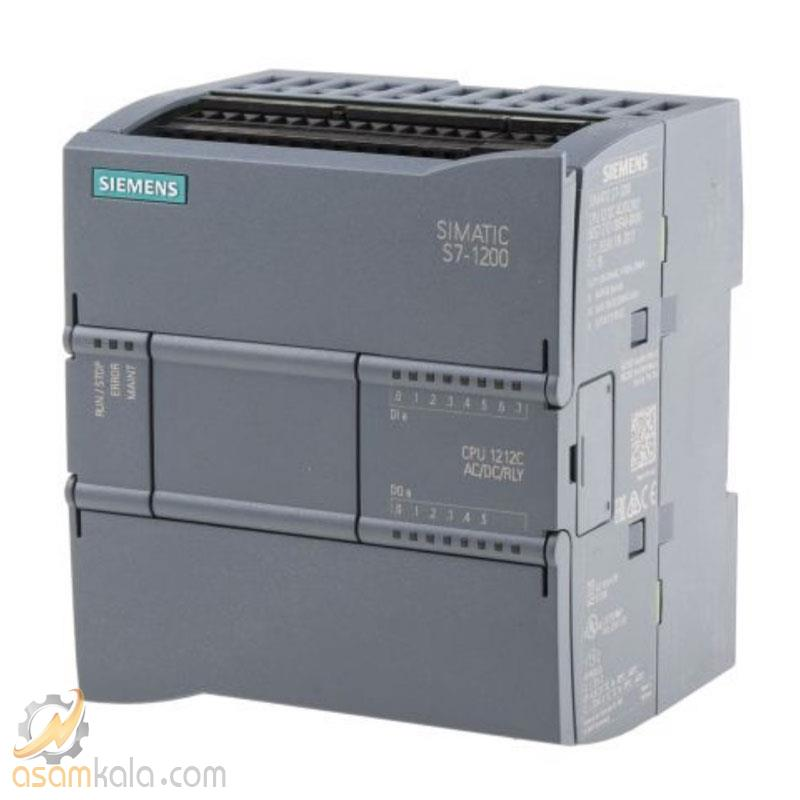 PLC زیمنس CPU 1212C AC/DC/RELAY BE