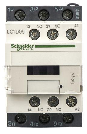 کنتاکتور اشنایدر LC1D09